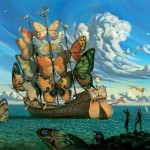 Random image: Departure of the Winged Ship - Vladimir Kush